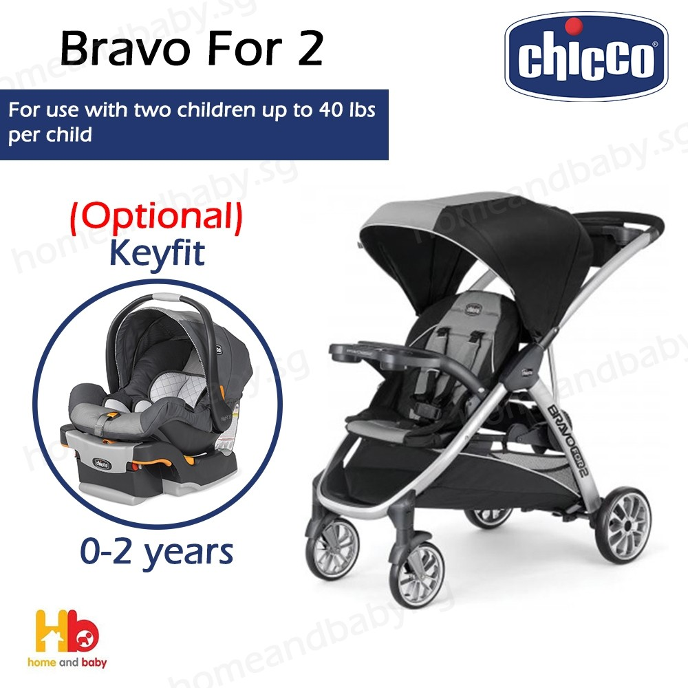 Chicco Baby Stroller Bravo for 2