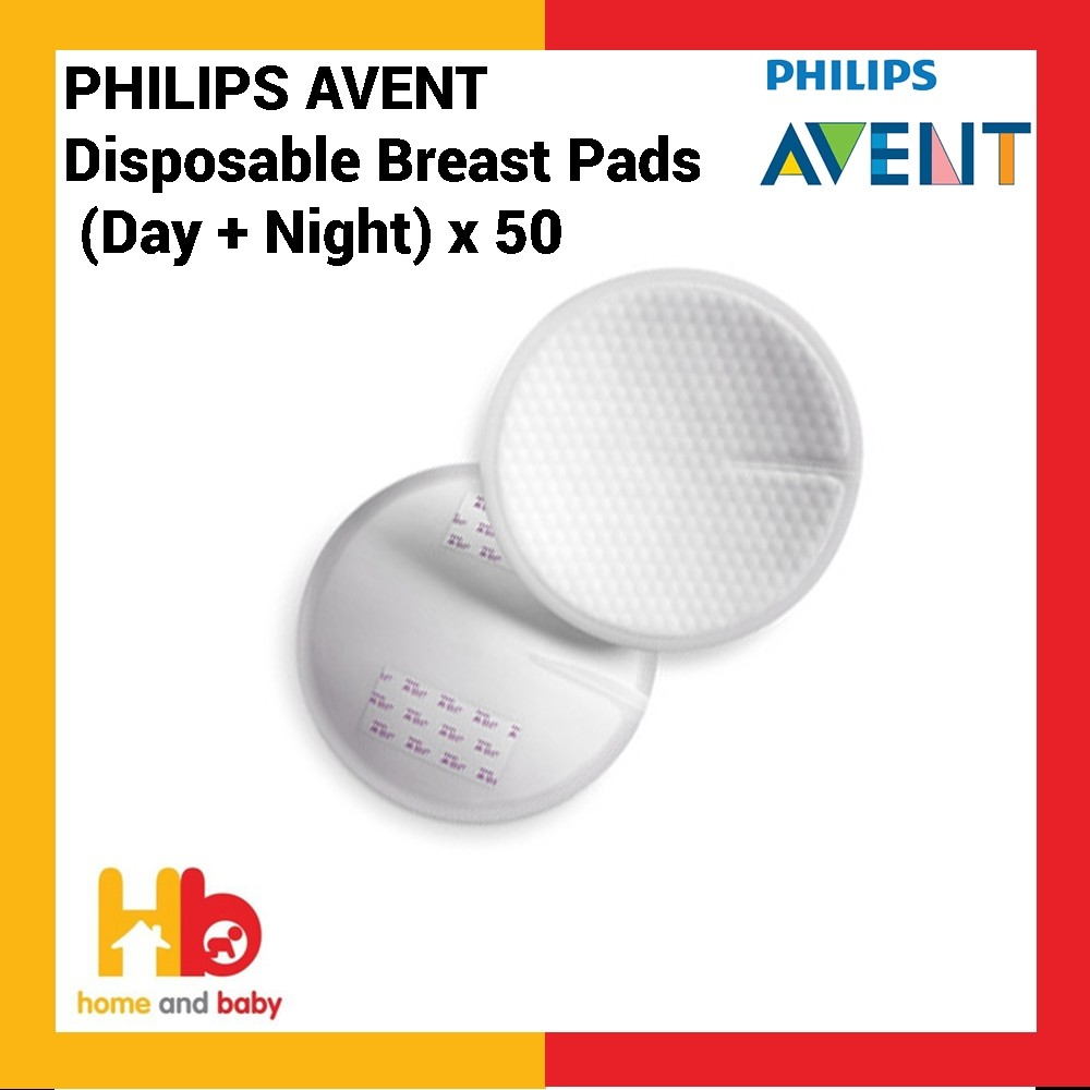 Philips Avent Disposable Breast Pads (Day + Night) x50