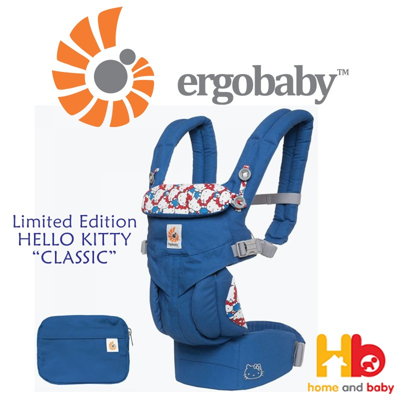 189e58dc48 Ergobaby OMNI 360 All-In-One Baby Carrier (Limited Ed Hello Kitty ...