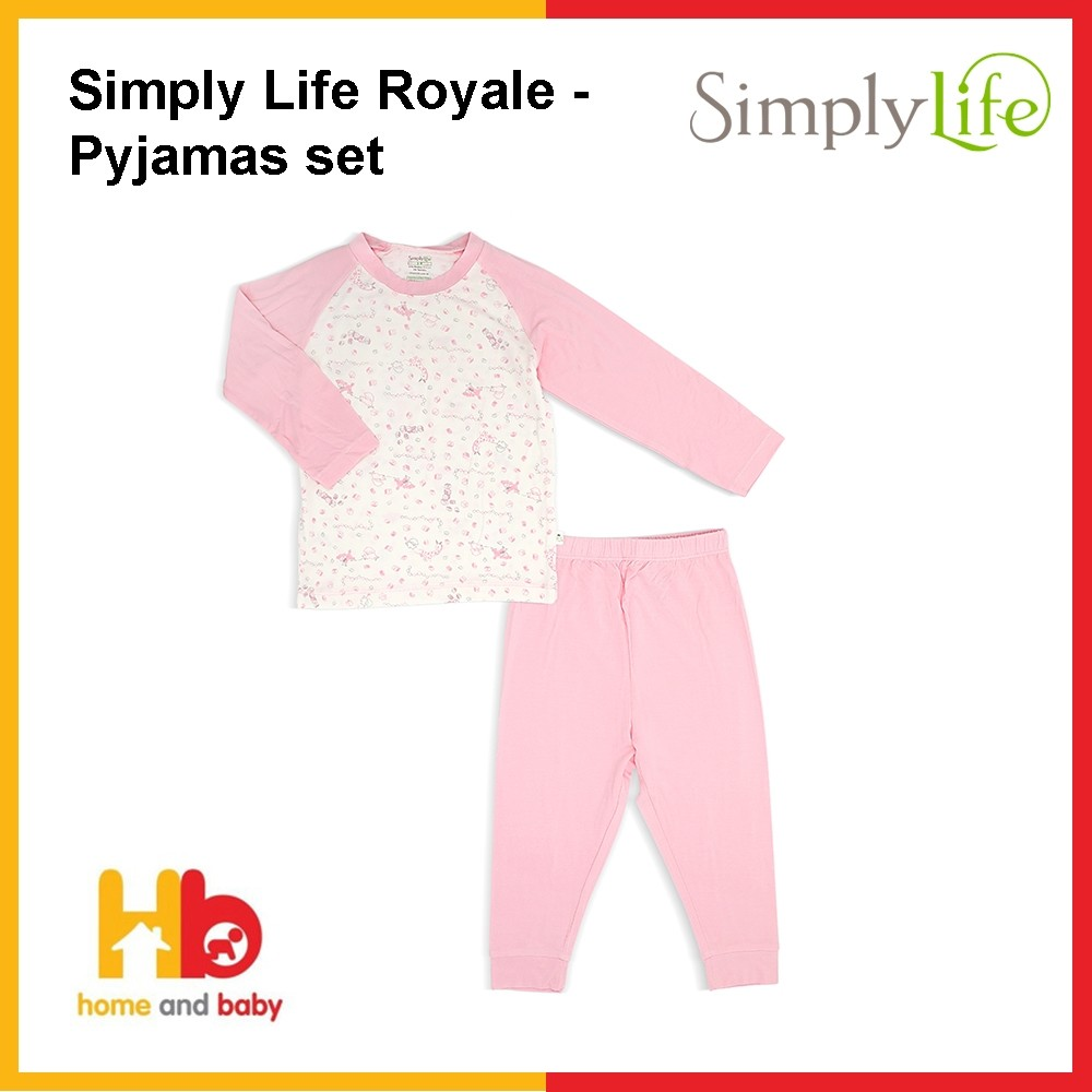 Simply Life Joyride – Pyjamas Set with Raglan Sleeves