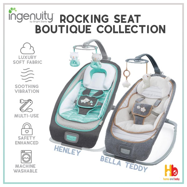 f6ba98e0346 Ingenuity Rocking Seat Boutique Collection - Baby