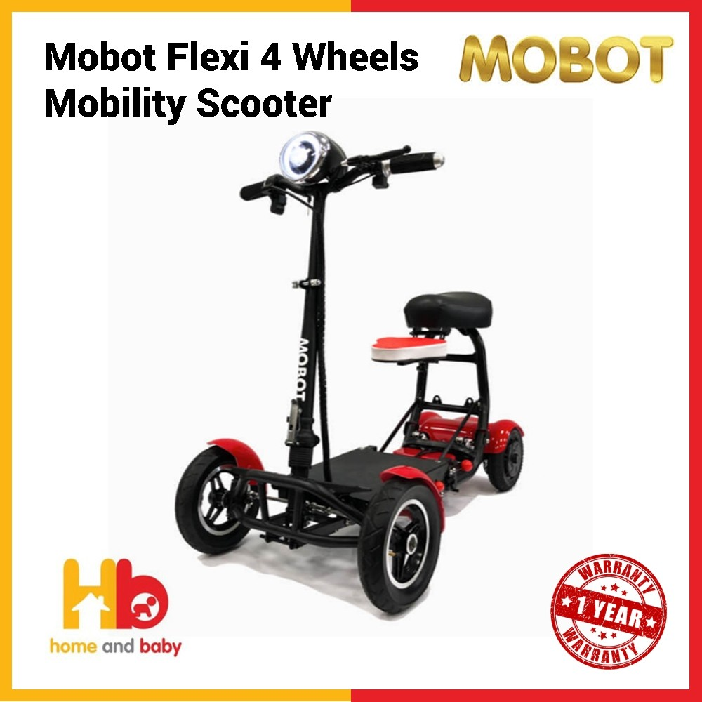 Mobot Flexi 4 Wheels Mobility Scooter