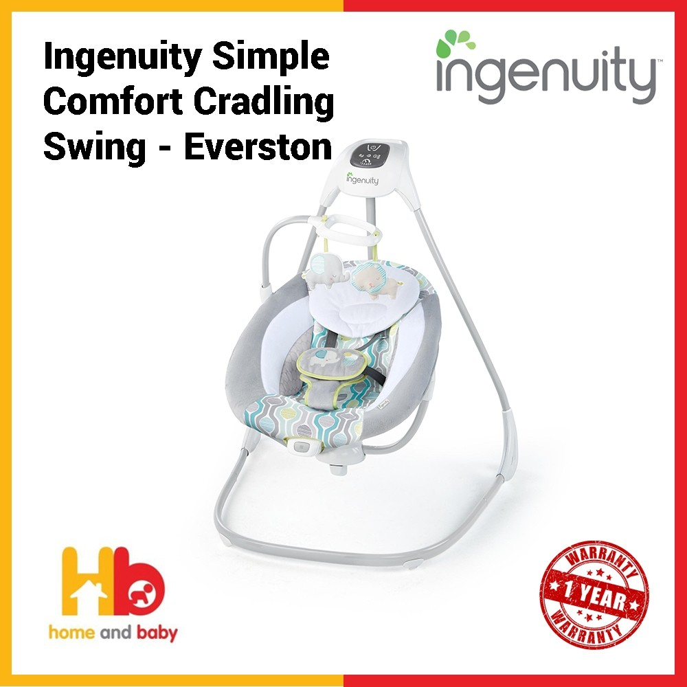 Ingenuity Simple Comfort Cradling Swing - Everston