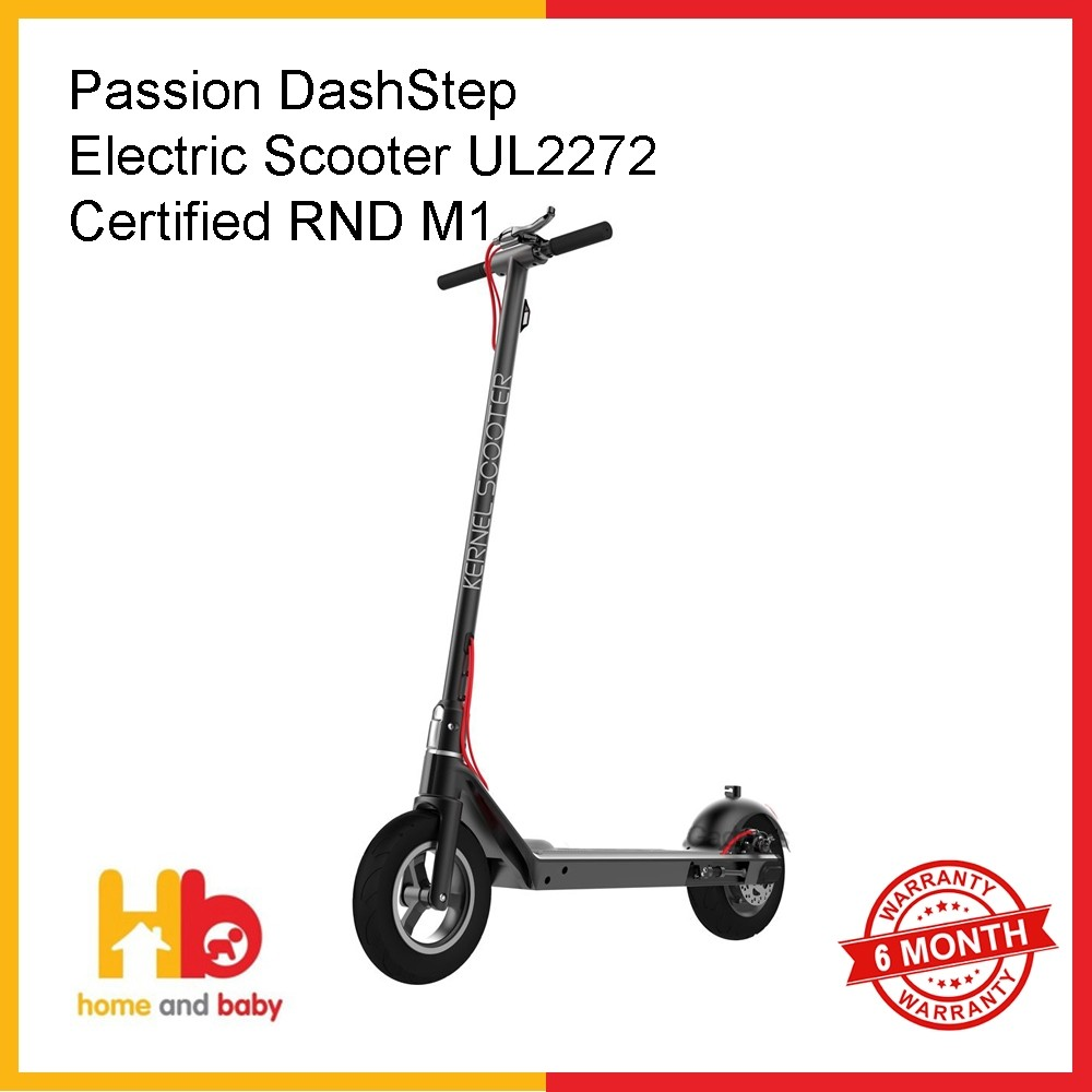Passion DashStep Electric Scooter UL2272 Certified RND M1