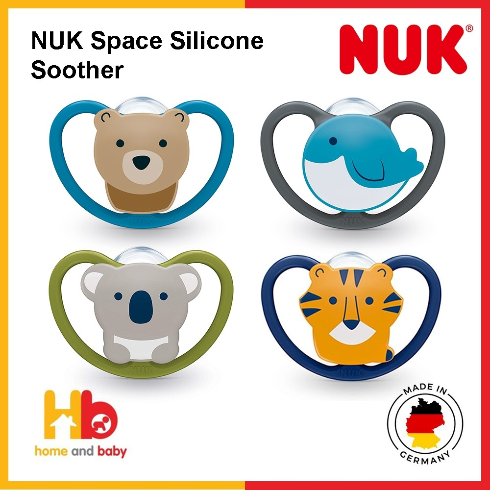 NUK Space Silicone Soother (18-36 Mth)