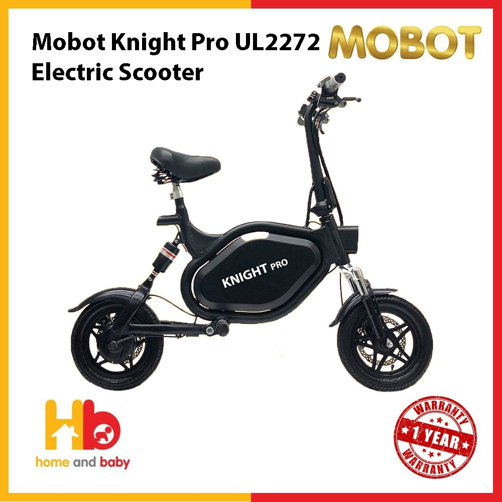 Mobot Knight Pro UL2272 Electric Scooter (SHIPMENT COMING AT END OF NOV)