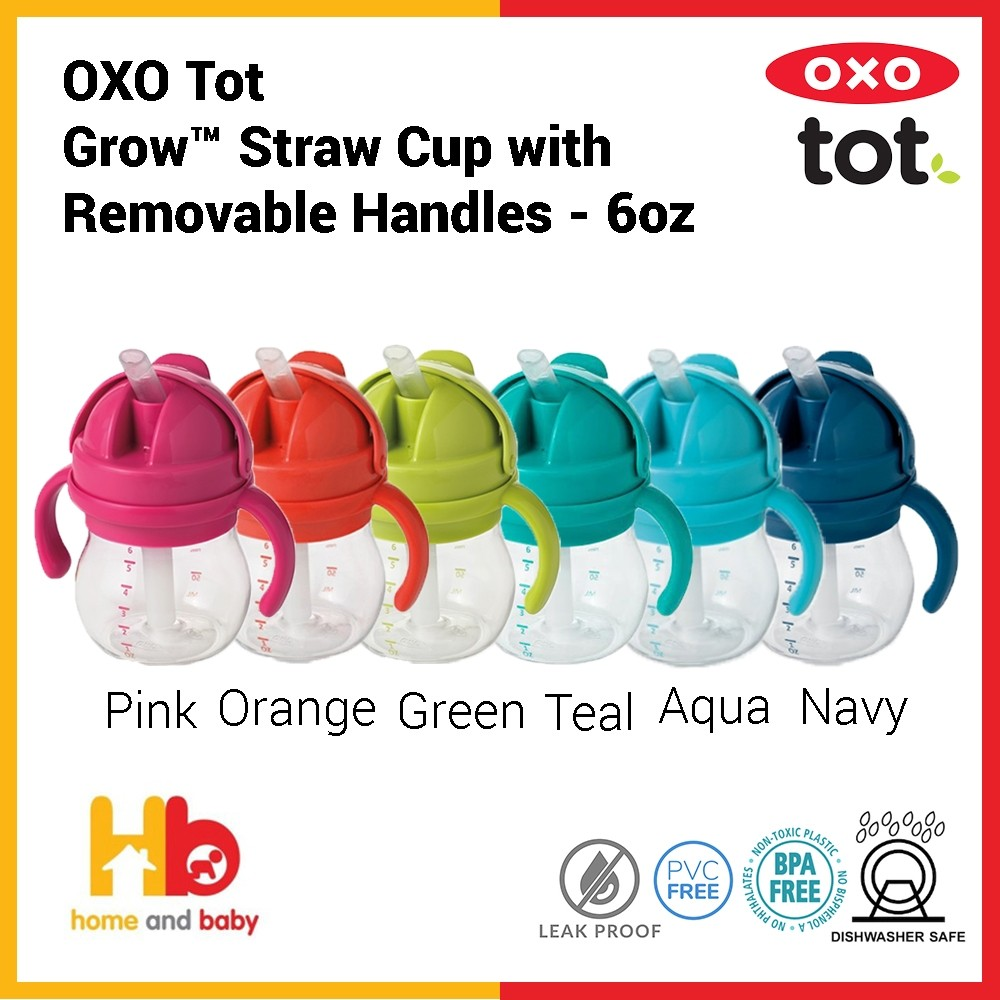 OXO Tot Grow™ Straw Cup with Removable Handles - 6oz