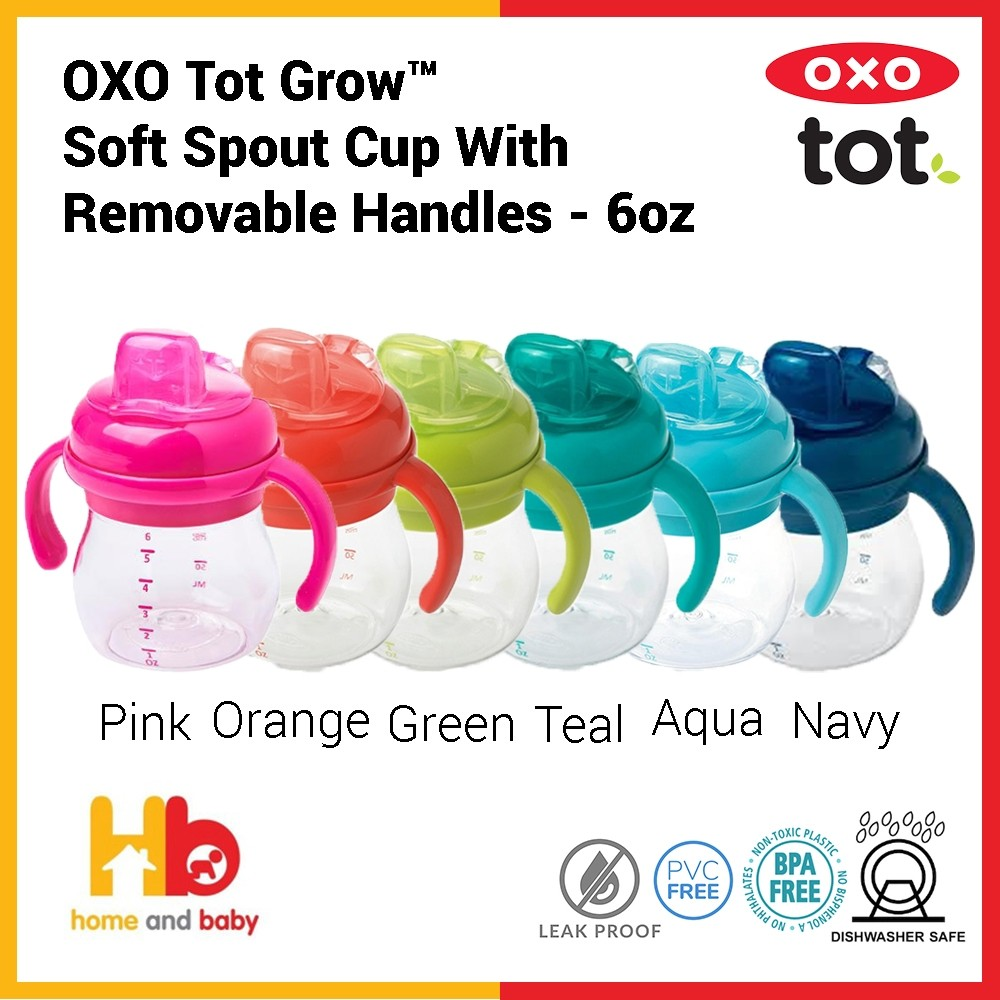 OXO Tot Grow™ Soft Spout Cup with Removable Handles - 6oz