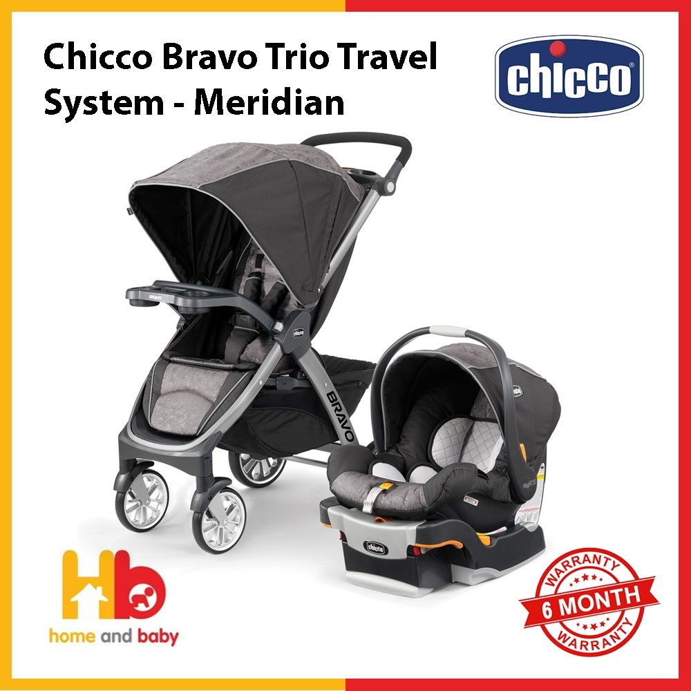 Chicco Bravo Trio Travel System - Meridian (shipment coming at 1st week of OCT) PRE-ORDER