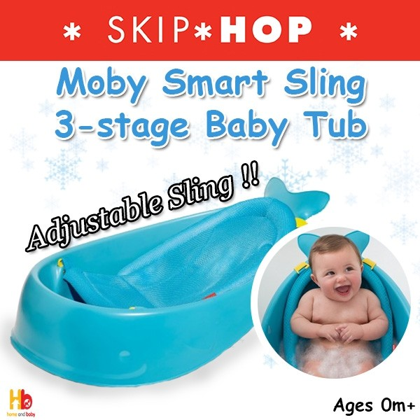 88bc6fca509 Skip Hop Moby Smart Sling™ 3-stage Baby Tub - Baby Care - Baby